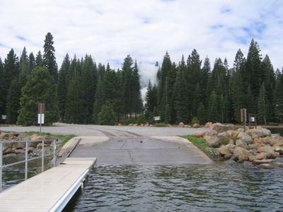 Private community boat ramp