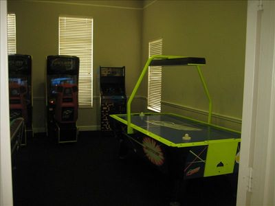 Have fun in the game room located in the clubhouse