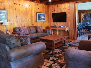Lake Wallenpaupack lodge photo - Living Room