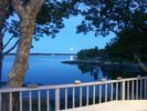 Enjoy peaceful evenings on the deck - Georgetown house vacation rental photo