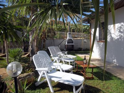 Villa Solemare with sea view, surroundet by Palms,near the beach, WIFI free