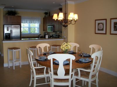 Marathon townhome rental - Dining area