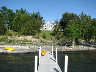 Addison house photo - House from the dock