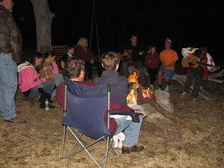 Lampasas house photo - Evenings full of music, moonlight, s'mores and tales of glory!