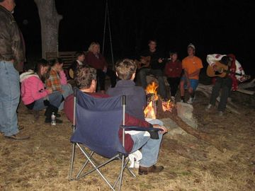 Evenings full of music, moonlight, s'mores and tales of glory!