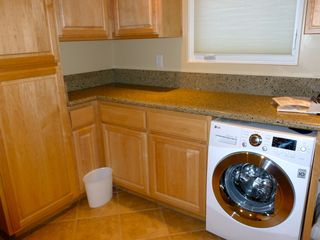 Pacific Grove condo photo - Laundry Room with new LG washer/dryer