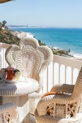Malibu villa photo - Living and Dining Room Balcony