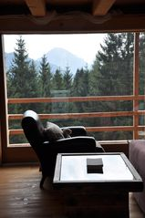 Mezzano barn photo - A comfortable chair, a good book, a view
