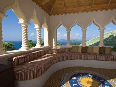 Kismet St. John Virgin Islands - Tower above villa with 360º view