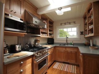 Pacific Grove house photo - Kitchen features a Viking stove, two sinks and lots of counter space.
