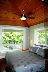3rd bed room partial ocean view King bed