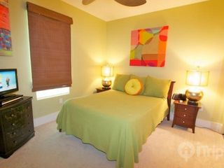 "Orange Beach condo photo - Guest bedroom with queen sized bed and 21"" TV/DVD"