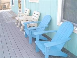Kitty Hawk house photo - Open sun decks with deck chairs