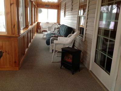 Edwards house rental - Three Season Porch
