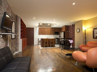 Midtown Manhattan apartment rental - Living room