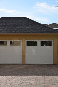 Free, secure parking for your vehicle. Garage door opener for your convenience
