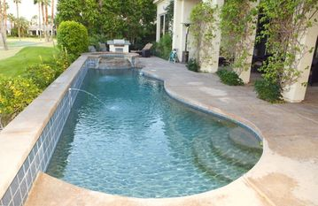 Indio house rental - A refreshing swimming pool and Golf-- What more could you want?