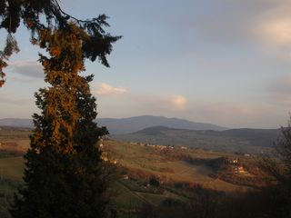 Fiesole villa photo - Landscape at sunset