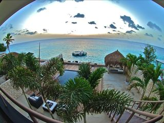 Bonaire villa photo - View from Terrace
