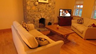 Galway City Area house photo - sitting room with open fireplace.