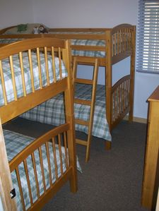 Taos Ski Valley condo rental - Two sets of bunkbeds for your kids and their friends ...