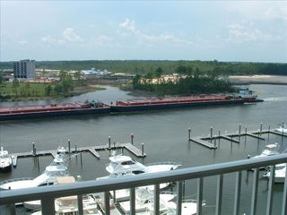 Orange Beach condo photo - Marina and Intercostal Waterway...the sunset view is absolutely breathtaking.