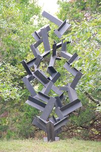 Sculpture in Yard