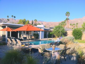 Palm Springs house rental - Situated on a large view lot with lots of room to stretch out and relax