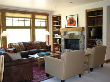 Mount Crested Butte condo rental - The Living Room