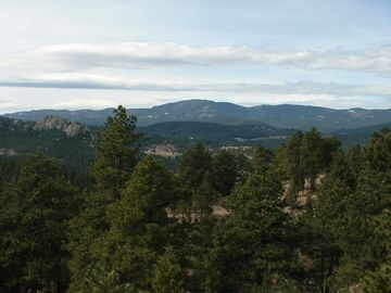 Evergreen house rental - The view from Colorado Dream Vacation!