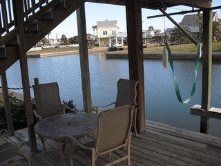 Sea Isle house photo - Downstairs deck