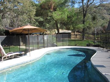 Springville cabin rental - Spring fed pool