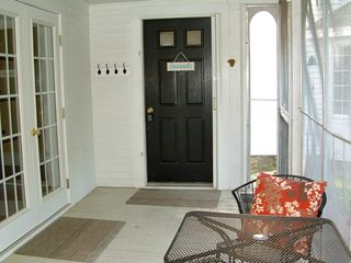 Ogunquit house photo - side entrance of screened porch Ogunquit Beach Bungalow Rentals By The Sea