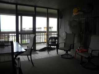 North Topsail Beach condo photo - Screened in Porch