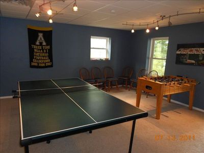 Game Room ... Ping Pong & Foosball