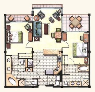 Waipouli Beach Resort F204 floor plan