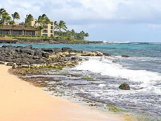 Poipu condo photo - Beaches all along coast can be discovered. See Surf Song - 2nd level windows.