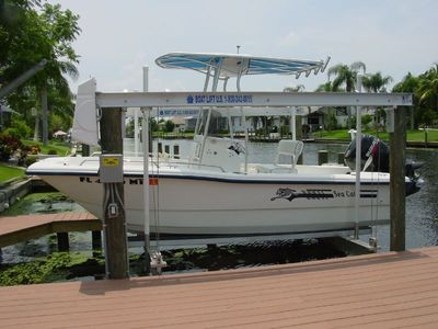 Rental boat is an 18' Sea Cat with 115 hp Suzuki - required months of Jan - Mar
