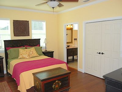 spacious Queen bedroom ensuite