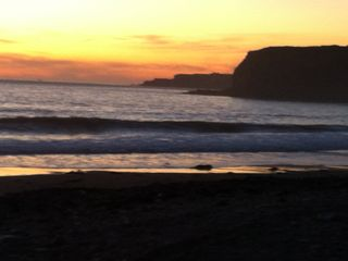 Rancho Palos Verde house photo - Sunsets are spectacular all year round - a perfect end to a relaxing day!