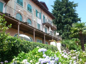 Baveno apartment rental - Partial view of the villa