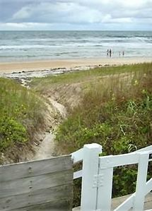 This is your gate to your own private beach!