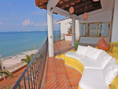 Enjoy The 180 Degree View From Our Own Private Wraparound Terraza.....