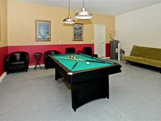 Crystal Cove villa photo - game room with pool table(table tennis) and Soccer - Foosball Tables