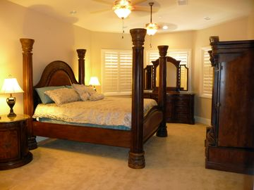 Grand Master Bedroom - Cal King , downstairs