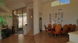 Tucson house photo - Entryway and dining room