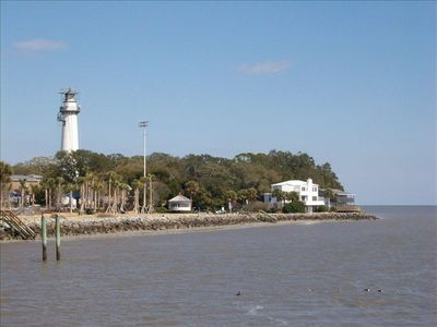 Sain Simons Island Lighthouse