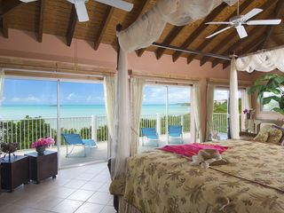 Providenciales - Provo villa photo - Master Suite with stunning views