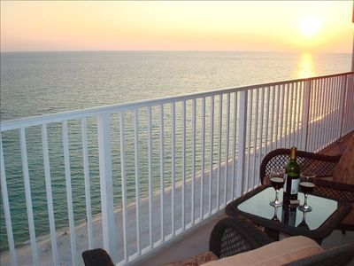 Watch the Sunset from the Eleventh Floor Balcony