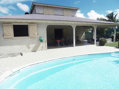 VILLA FURNISHED WITH POOL SAINTE ANNE